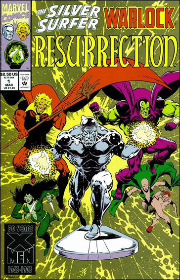 Silver Surfer/Warlock: Resurrection 1-A by Marvel