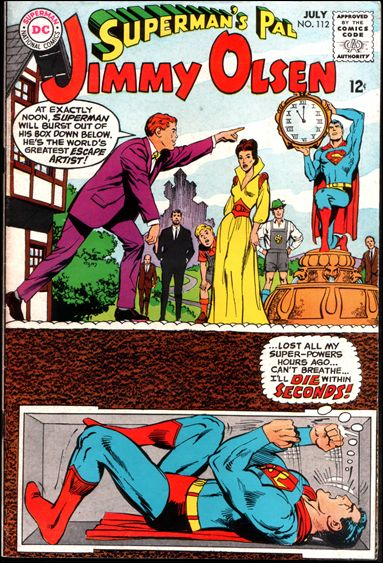 Superman's Pal Jimmy Olsen 112-A by DC