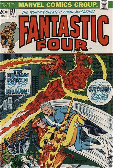 Fantastic Four (1961) 131-A by Marvel