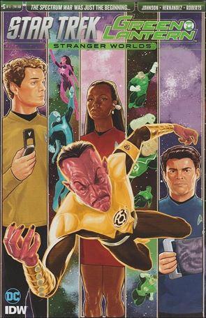 Star Trek/Green Lantern (2016) 5-B