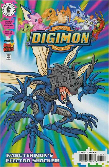 Digimon Digital Monsters 5-A by Dark Horse