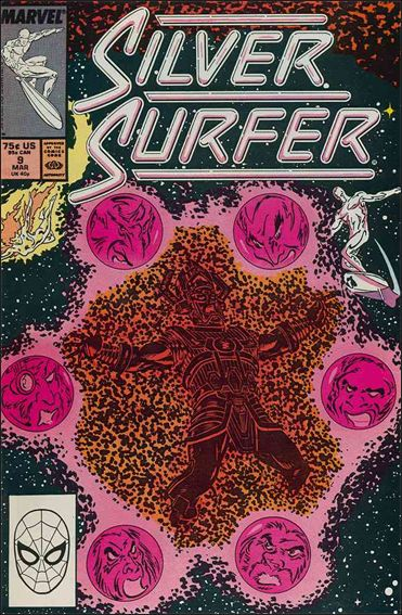 Silver Surfer (1987) 9-A by Marvel