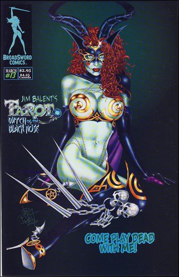 Tarot: Witch of the Black Rose 13-B by BroadSword Comics