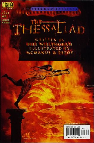 Sandman Presents: The Thessaliad 3-A by Vertigo