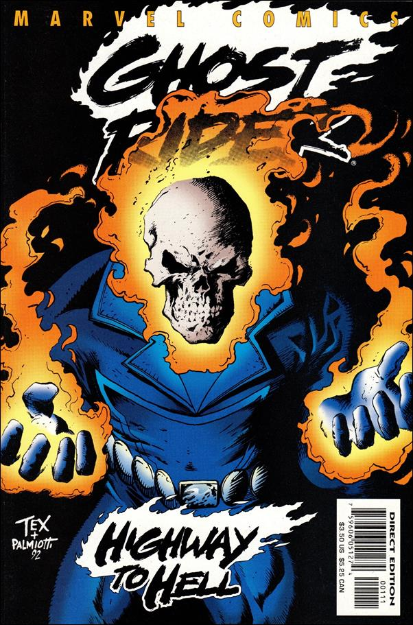 Ghost Rider: Highway to Hell 1-A by Marvel