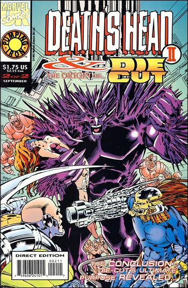 Death's Head II & the Origin of Die-Cut (UK) 2-A by Marvel UK