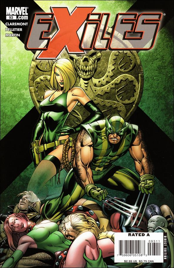 Exiles (2001) 93-A by Marvel