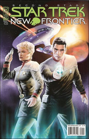 Star Trek: New Frontier 1-A by IDW