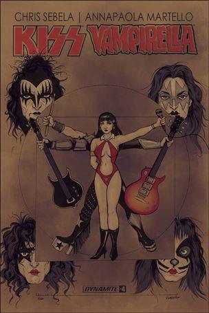 KISS / Vampirella 4-B
