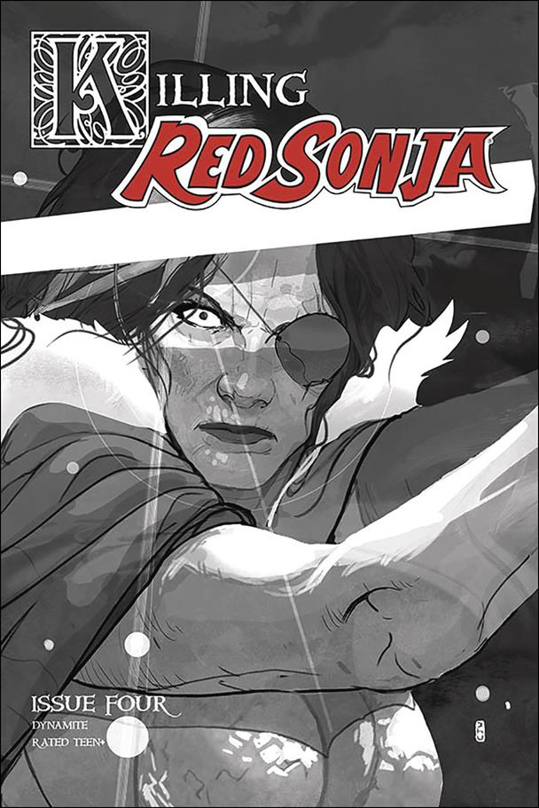 Killing Red Sonja 4-E by Dynamite Entertainment