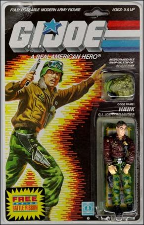 "G.I. Joe: A Real American Hero 3 3/4"" Basic Action Figures Hawk (G.I. Joe Commander) by Hasbro"