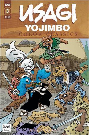 Usagi Yojimbo Color Classics 3-A