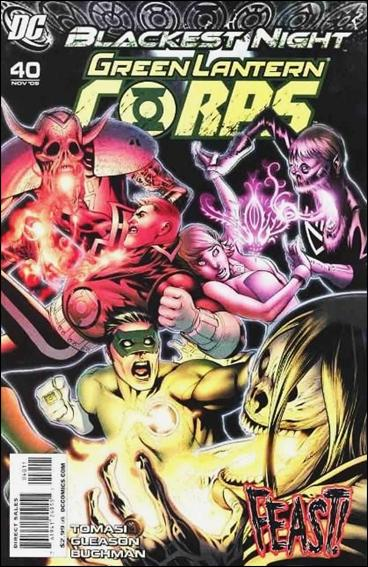 Green Lantern Corps (2006) 40-A by DC