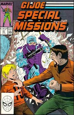 G.I. Joe: Special Missions (1986) 22-A by Marvel