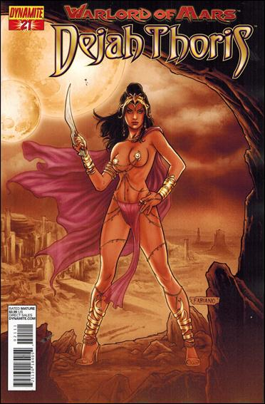 Warlord of Mars: Dejah Thoris 21-B by Dynamite Entertainment