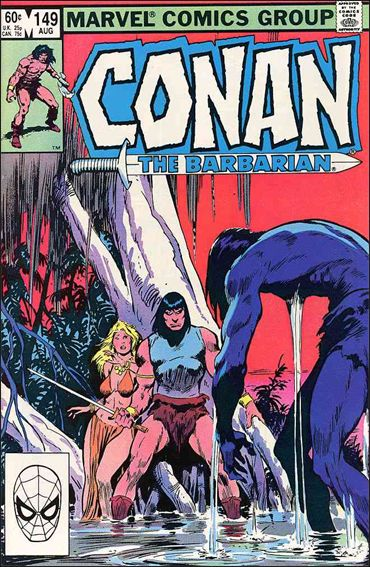 Conan the Barbarian (1970) 149-A by Marvel