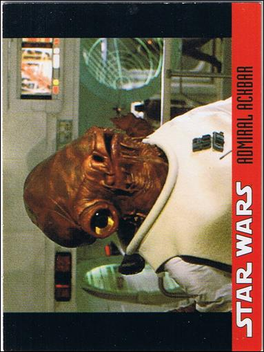 Star Wars Candy Heads Collector Set (Promo) 10-A by Topps