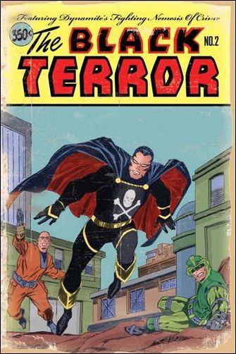 Black Terror (2008) 2-C by Dynamite Entertainment