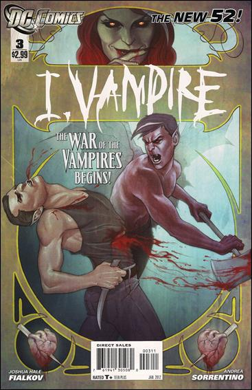 I, Vampire 3-A by DC