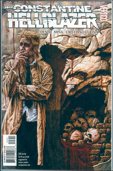 Hellblazer 223-A by Vertigo