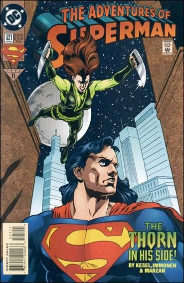 Adventures of Superman (1987) 521-A by DC
