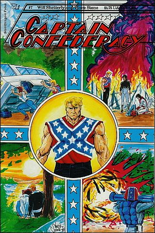 Captain Confederacy (1986) 7-A by SteelDragon Press