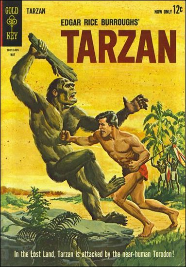 Tarzan (1962) 135-A by Gold Key