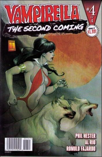 Vampirella: Second Coming 4-D by Harris
