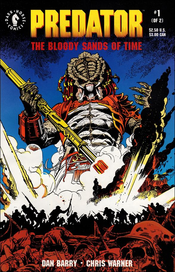 Predator: The Bloody Sands of Time 1-A by Dark Horse