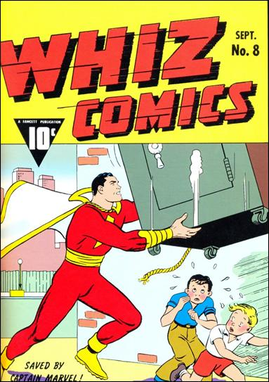Whiz Comics 8-A by Fawcett