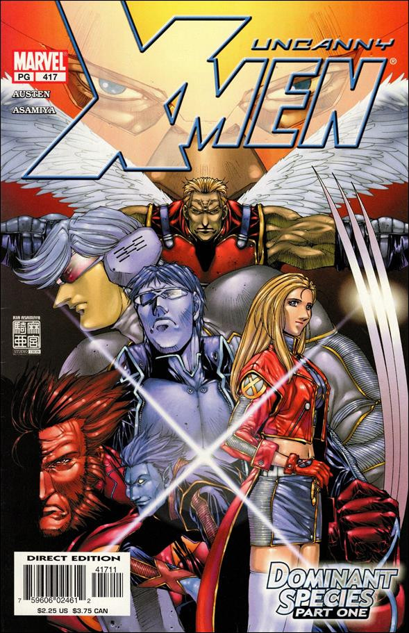 Uncanny X-Men (1981) 417-A by Marvel