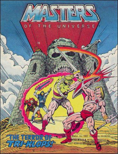 Masters of the Universe (1981) 2.3-A by Mattel