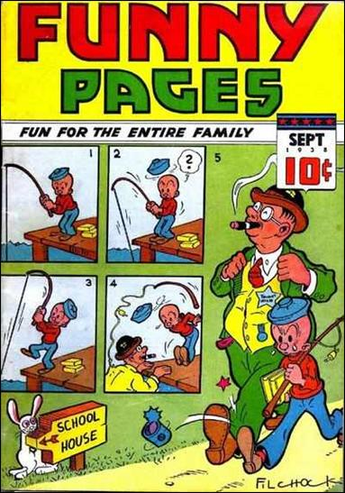 Funny Pages (1937) 10-A by Centaur Publications Inc.