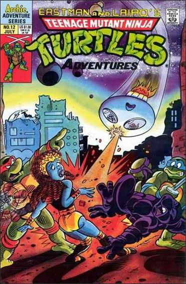 Teenage Mutant Ninja Turtles Adventures (1989) 12-A by Archie