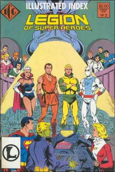 Official Legion of Super-Heroes Index 3-A by ICG