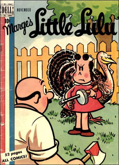 Marge's Little Lulu 17-A by Dell