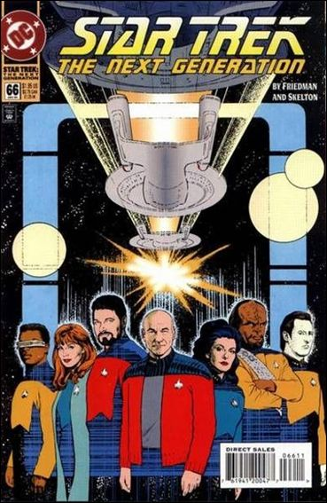 Star Trek: The Next Generation (1989) 66-A by DC