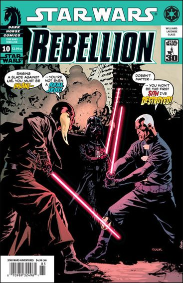 Star Wars: Rebellion 10-A by Dark Horse