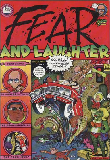 Fear and Laughter 1-A by Kitchen Sink