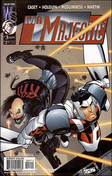 Mr. Majestic 3-A by WildStorm