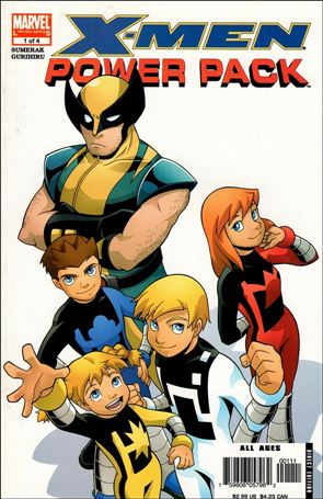 X-Men and Power Pack 1-A