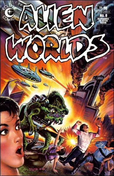 Alien Worlds (1982) 8-A by Pacific