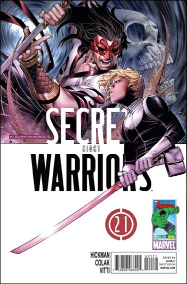 Secret Warriors 21-A by Marvel