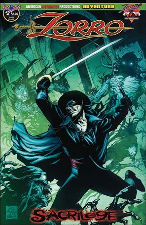 Zorro: Sacrilege 2-A