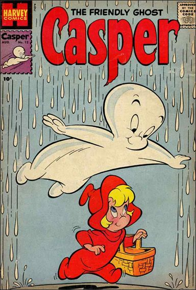 Friendly Ghost, Casper 12-A by Harvey