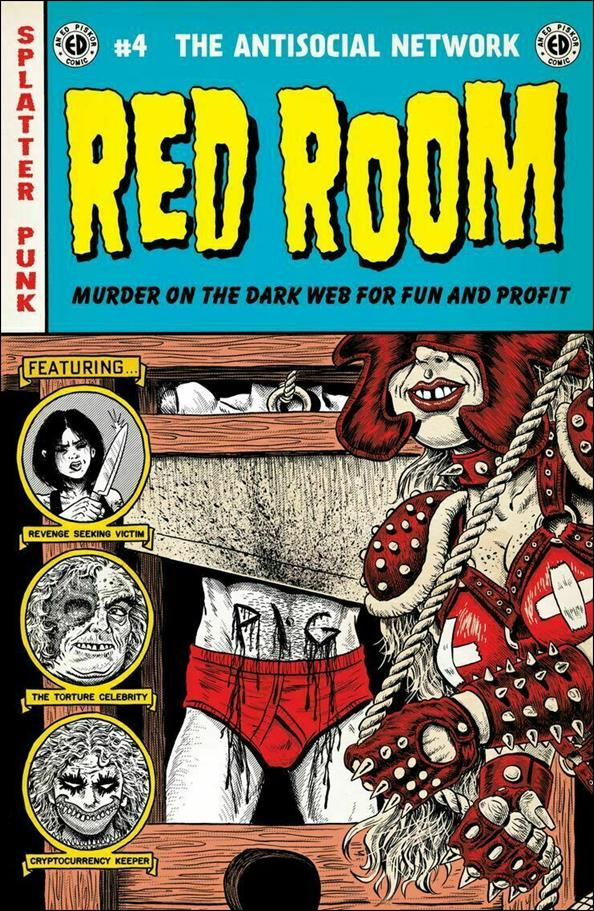 Red Room: The Antisocial Network 4-A by Fantagraphics