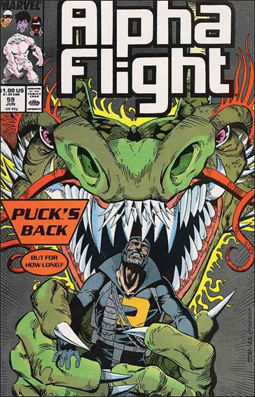 Alpha Flight (1983) 59-A by Marvel