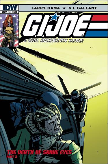 G.I. Joe: A Real American Hero 213-B by IDW