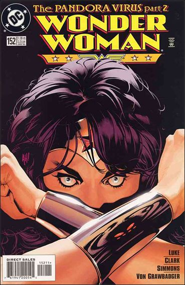 Wonder Woman (1987) 152-A by DC