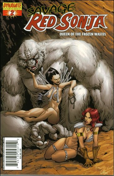 Savage Red Sonja: Queen of the Frozen Wastes 2-C by Dynamite Entertainment